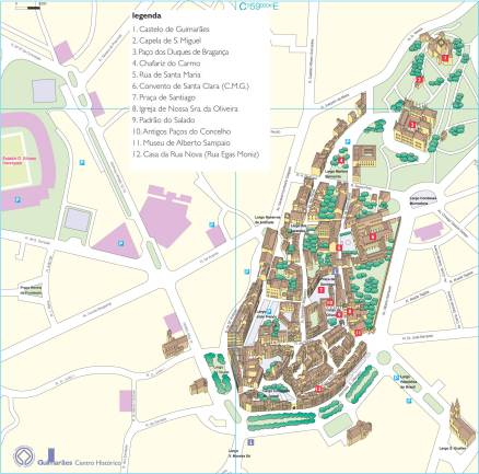 mapa centro historico guimaraes Serviços | Câmara Municipal de Guimarães mapa centro historico guimaraes