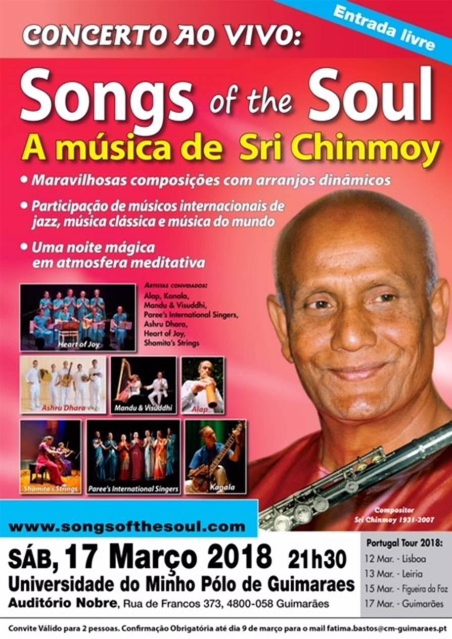 Projeto Internacional Songs Of The Soul Apresentado Em